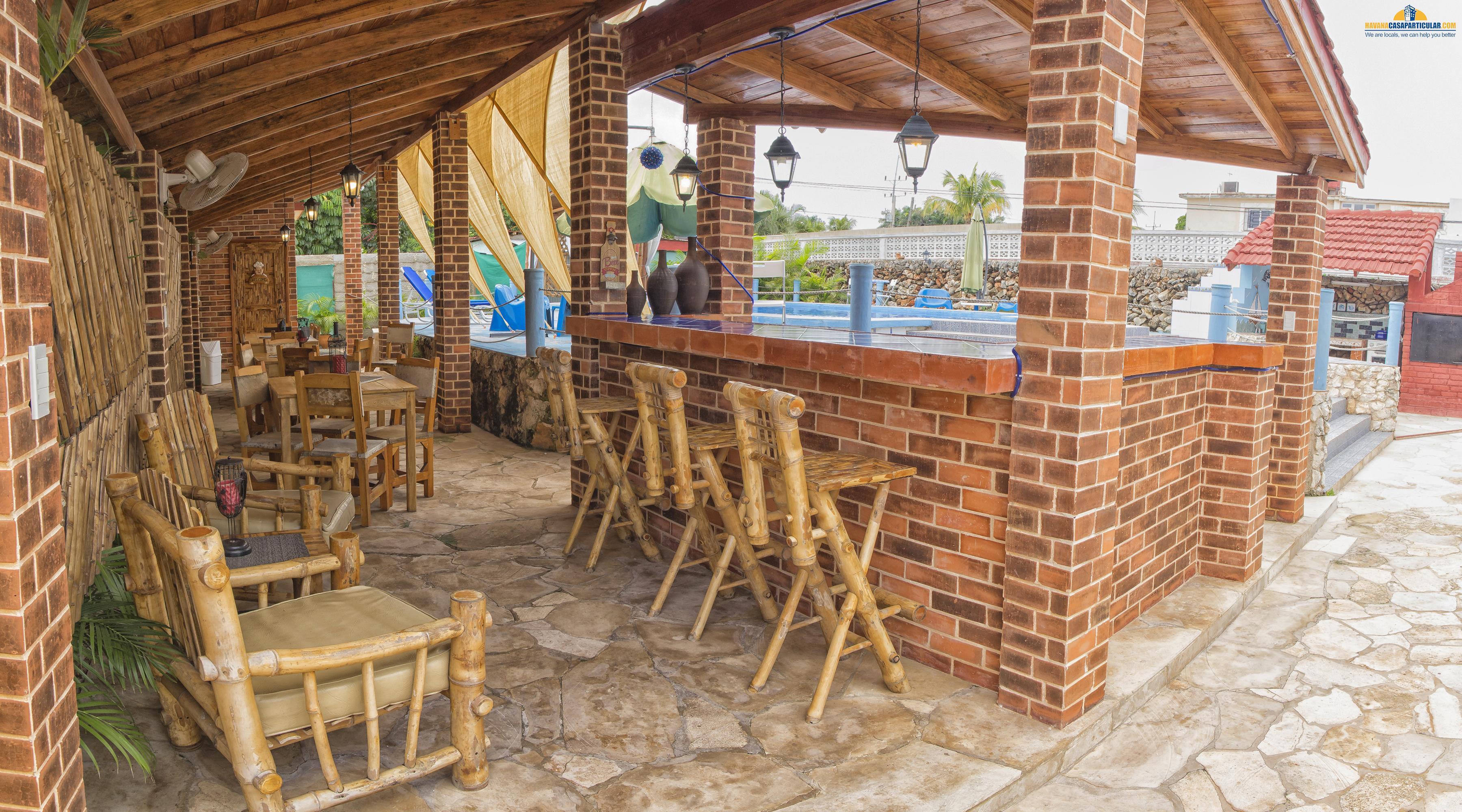 Guesthouses casa zuleika santa fe rentals havana city for Casa in stile santa fe